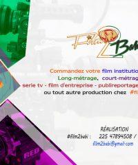 Film 2 Babi, films institutionnels, clip video